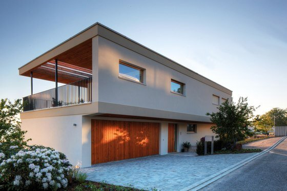 Richrerswil House - open and light architecture