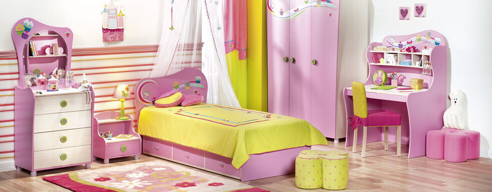 cupcake room for girls