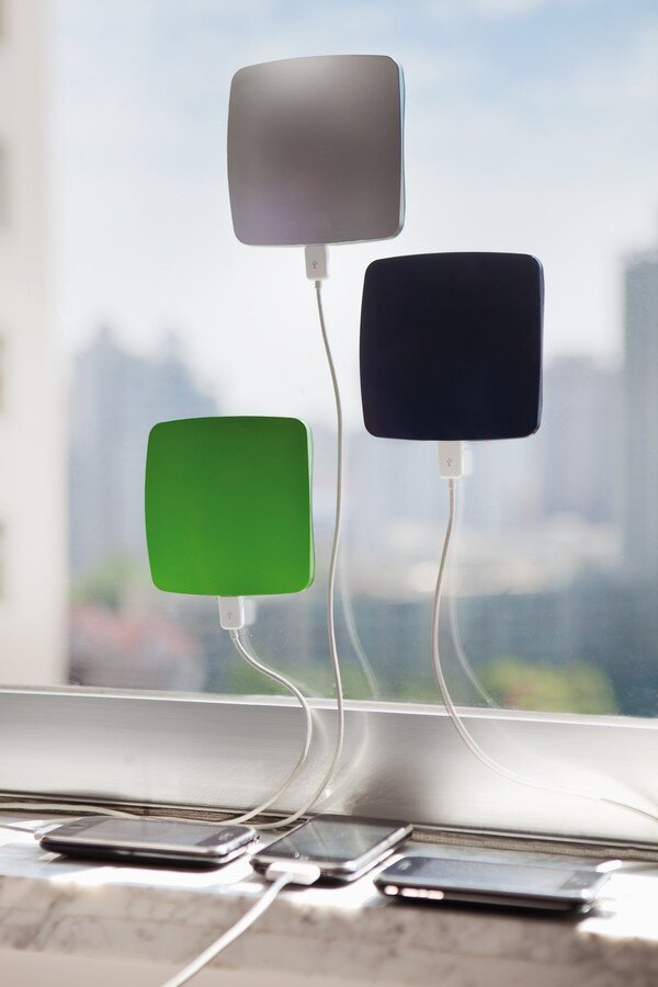 Solar phone chargers, smart devices