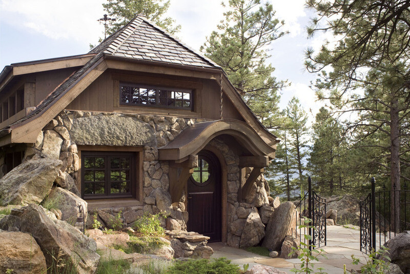 The montain cottage