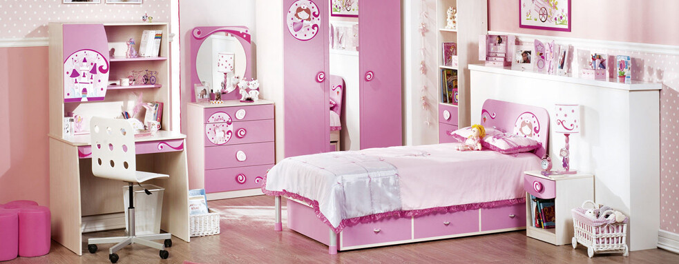 pink room for girl