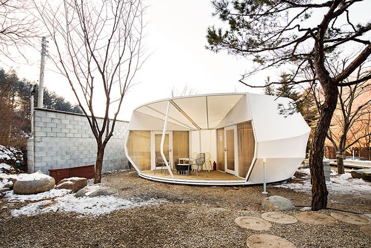 ArchiWorkshop Worms And Donughts Tents - Glamping For Glampers 2