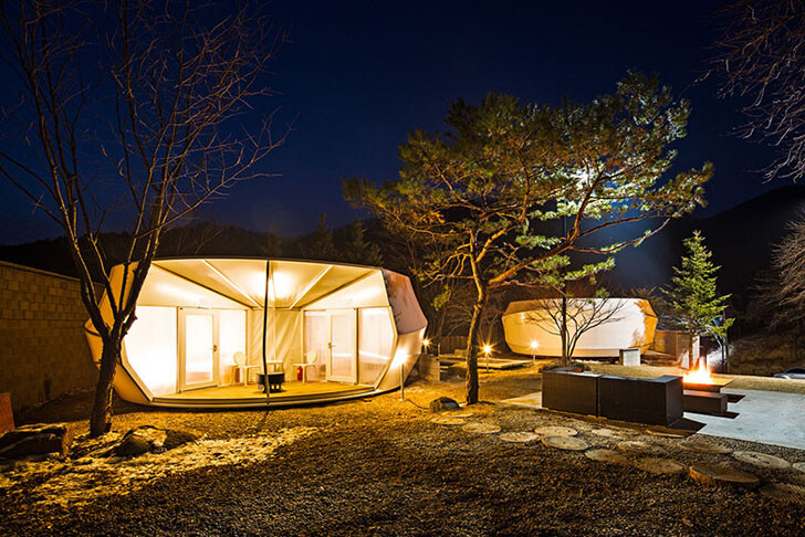 ArchiWorkshop Worms And Donughts Tents - Glamping For Glampers 4
