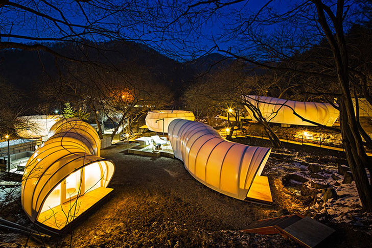 ArchiWorkshop Worms And Donughts Tents - Glamping-For-Glampers 1