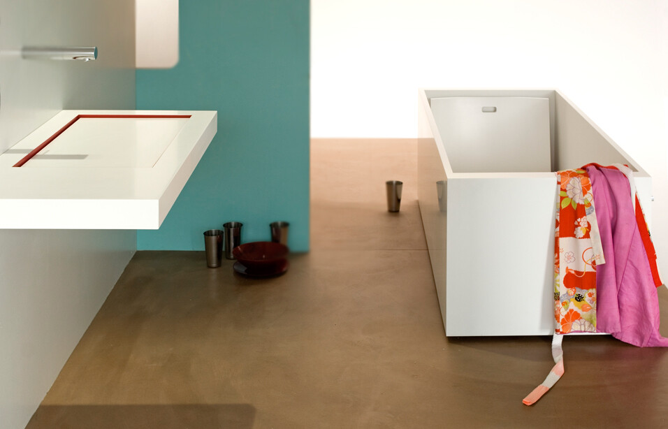 Horizontal Integrated Siphon, innovative design for the bathroom (3)