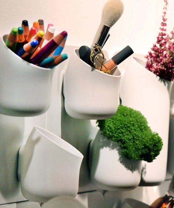 urbio - turn your wall into a beautiful garden/ organizer wall