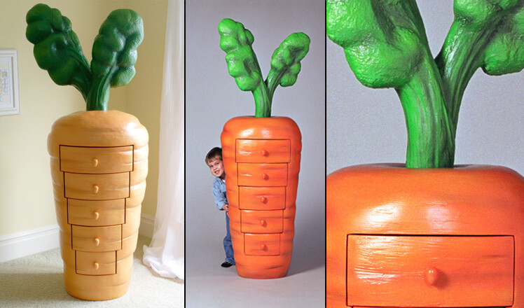 Funky and unique furniture for children room by Judson Beaumont (5)