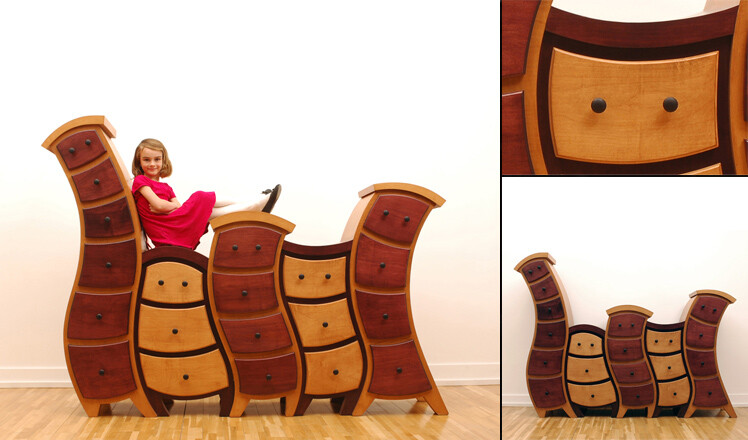 Funky and unique furniture for children room by Judson Beaumont (9)