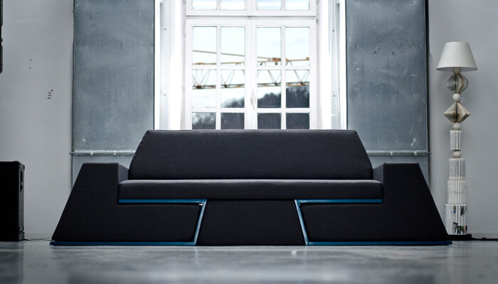Prime sofa -the equipment of relaxation of next generation from Desnahemisfera