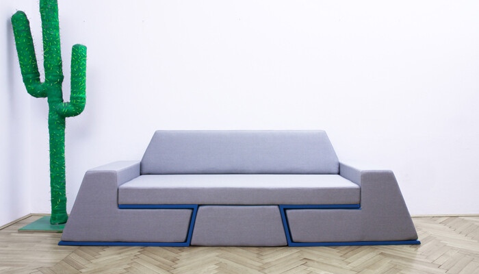 Prime sofa - the equipment of relaxation of next generation from Desnahemisfera (2)