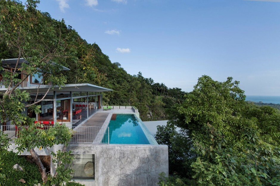 Architectural project for open space and a beautiful view (5)