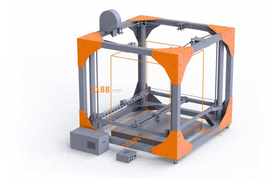BigRep proposes a new 3D printer. (2)