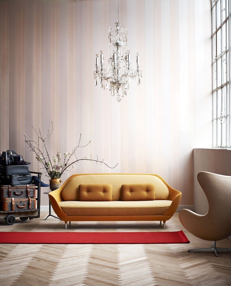 FAVN sofa by Jaime Hayon and Fritz Hansen