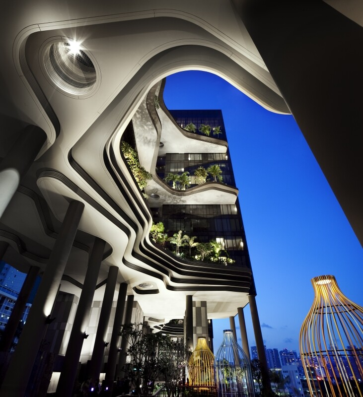 Parkroyal on Pickering Hotel from Singapore, by WOHA Architects (10)