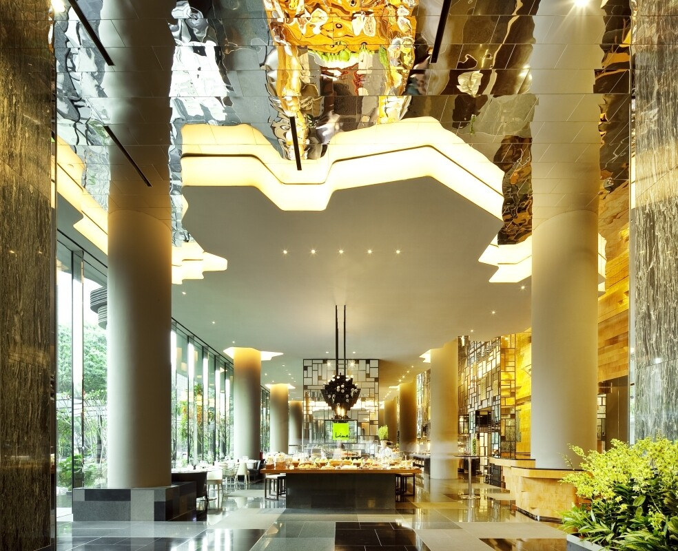 Parkroyal on Pickering Hotel from Singapore, by WOHA Architects (3)