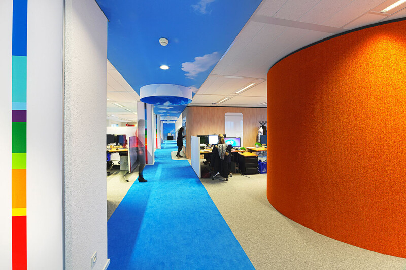 NTI office - vitality and vivid tones, by Liong Lie Architects (12)