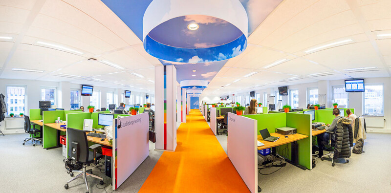 NTI office - vitality and vivid tones, by Liong Lie Architects (5)