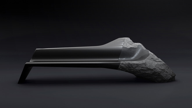 ONYX sofa presented at Milan Design Week 2014 (1) - by Pierre Gimbergues for Peugeot Design Lab