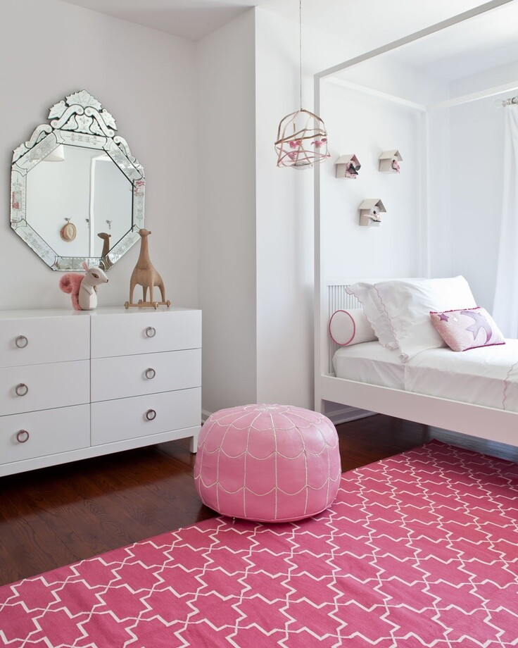 Ava's pink room