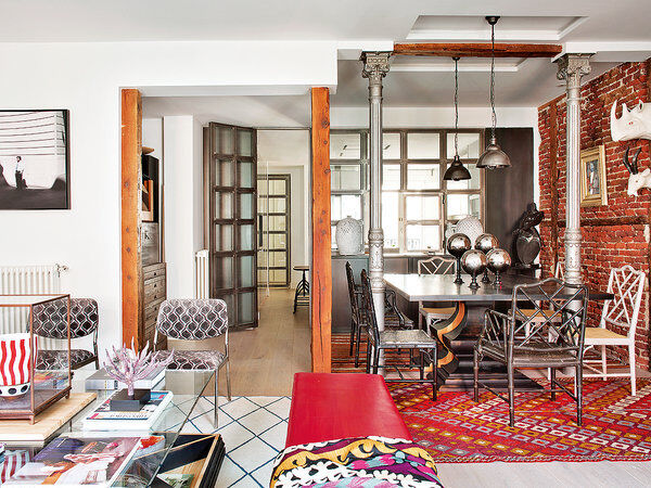 Style and vibrant tones in Madrid, by Marengo Interiorismo (6)