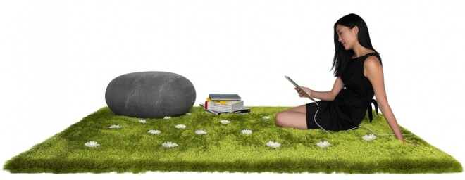Daisy Garden Rug - a playful and interactive rug by Joe Jin Design Company Ltd (5)
