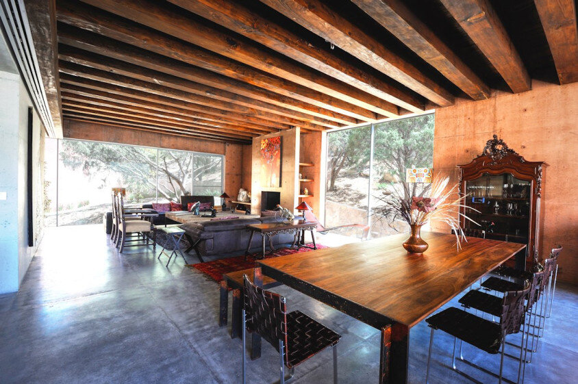Modern house surrounded by mountains Narigua by P mas Cero arquitectura (9)