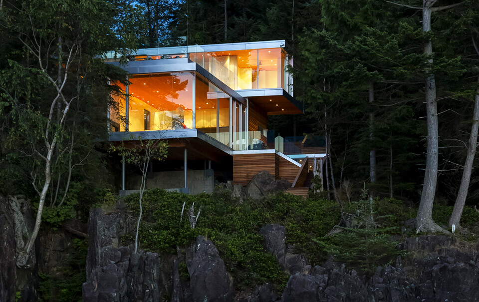 Gambier Island House - where beauty and silence reign  by McFarlane Green Biggar Architects (11)