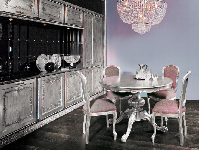 Kitchen inspired by the Baroque and Venetian theater (13)
