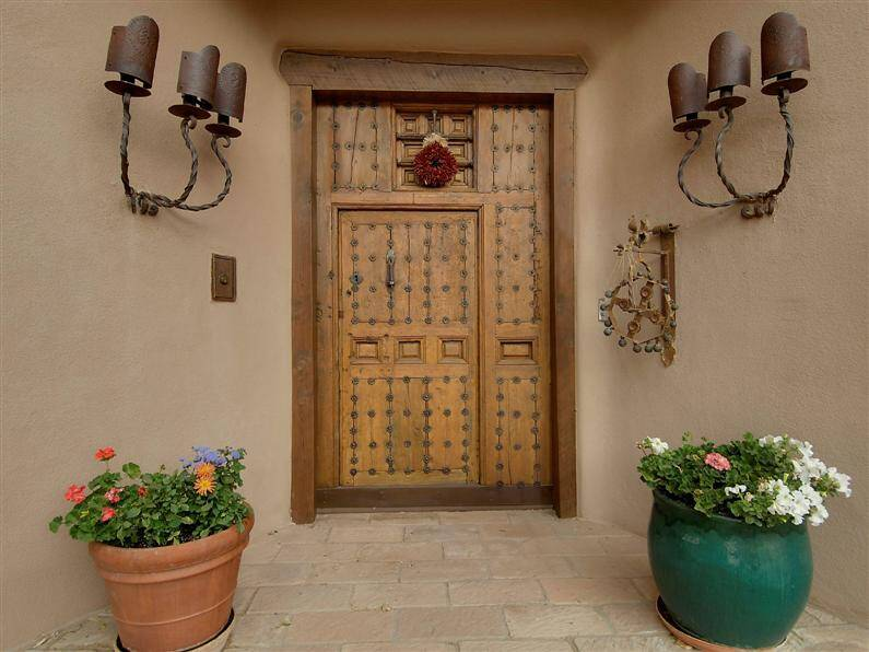 Magnificent mansion in Santa Fe, by John Midyette (17) (Custom)