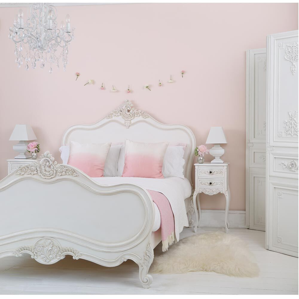 French beds - Provencal Louis XV - The French Bedroom Company- www.homeworlddesign.com
