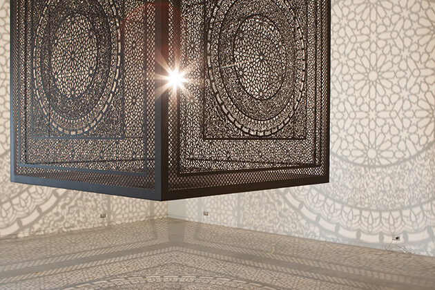 Intersections by Anila Quayyum Agha - www.homeworlddesign.com