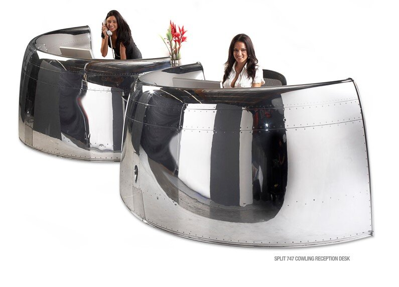 Futuristic furniture from retired airplanes - www.homeworlddesign (18)