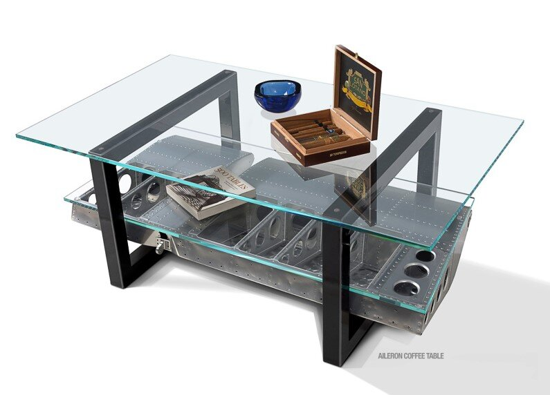 Futuristic furniture from retired airplanes - www.homeworlddesign (4)