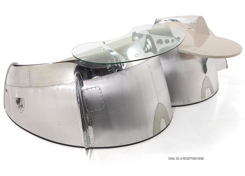Futuristic furniture from retired airplanes - www.homeworlddesign (8)