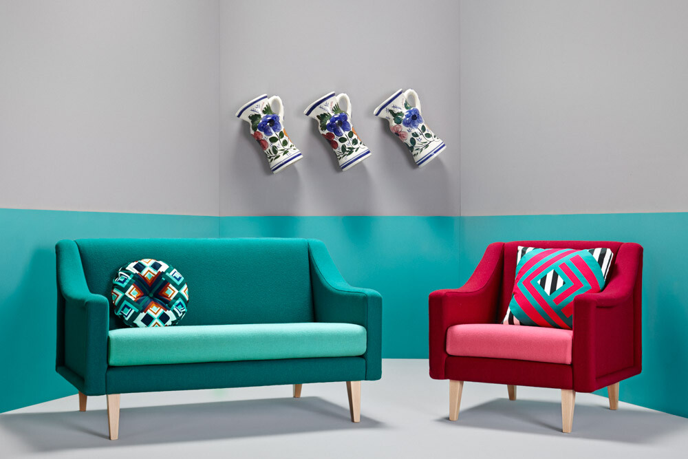 Upholstery inspired by the Crazy Years - The Twenties Collection - www.homeworlddesign.com