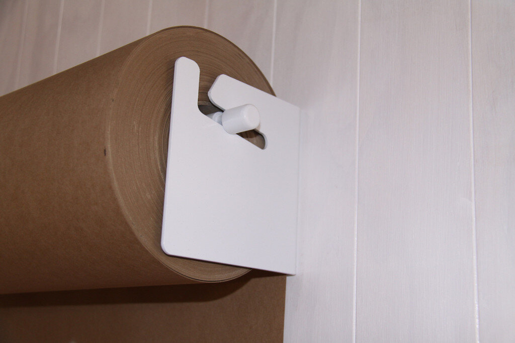 Wall mounted paper roll display Studio Roller by George and Willy - www.homeworlddesign. com (5)