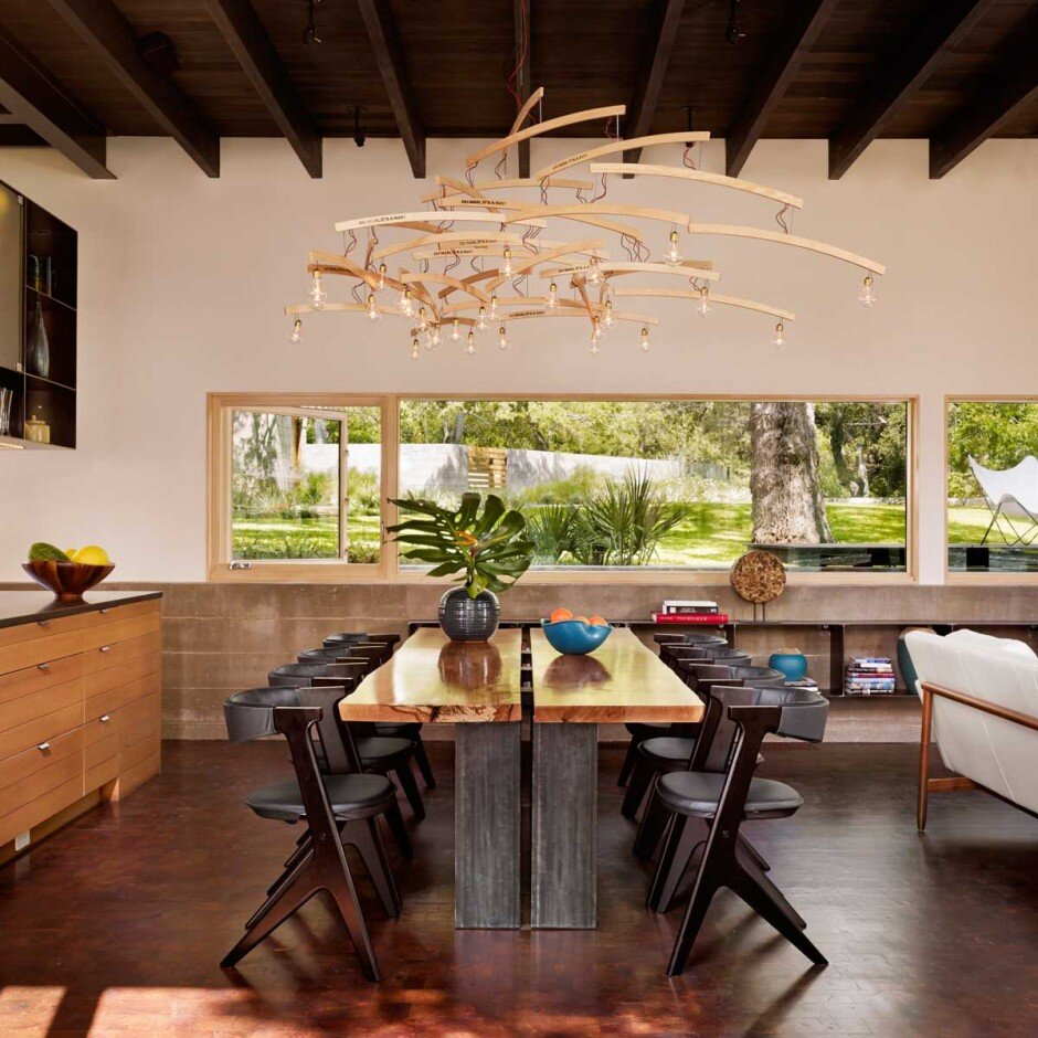 architecture with a strong connection to nature The Hog Pen Creek Residence - www.homeworlddesign. com (12)