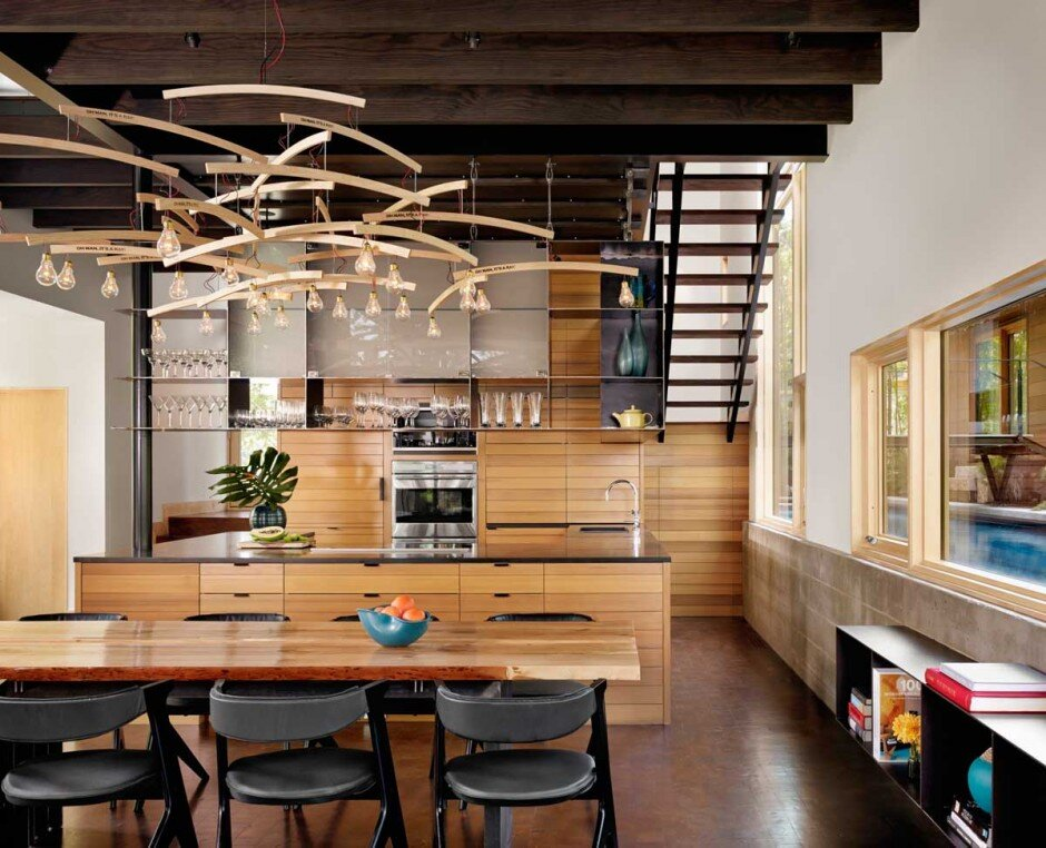 architecture with a strong connection to nature The Hog Pen Creek Residence - www.homeworlddesign. com (13)
