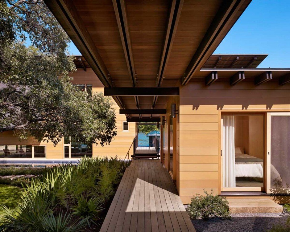 Modern architecture with a strong connection to nature The Hog Pen Creek Residence - www.homeworlddesign. com (3)