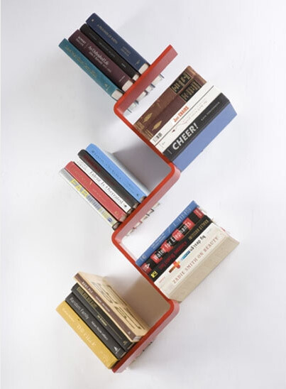Bookshelves with minimalist design and expressive Conceal book shelf - www.homeworlddesign. com (4)