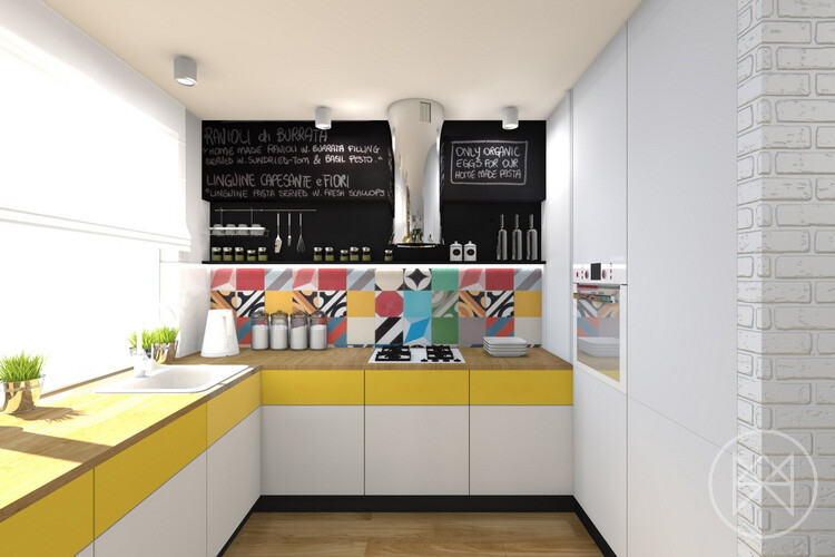 Pastel colors and freshness in this apartment in Jaworzno - www.homeworlddesign. com (10)