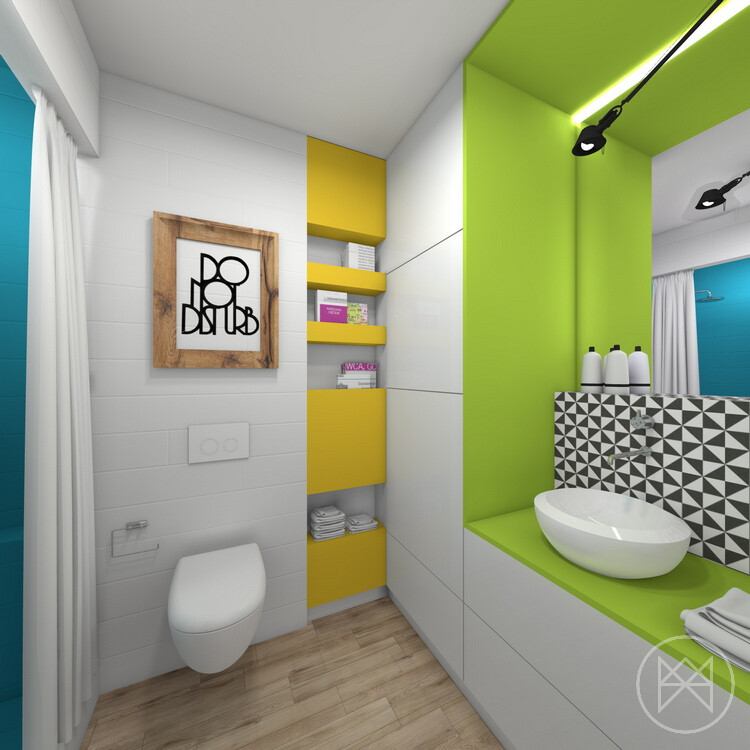 colors and freshness in this apartment in Jaworzno - www.homeworlddesign. com (16)
