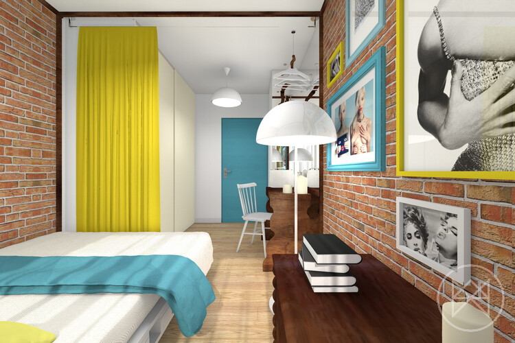 Colors and freshness in this apartment in Jaworzno - www.homeworlddesign. com (24)