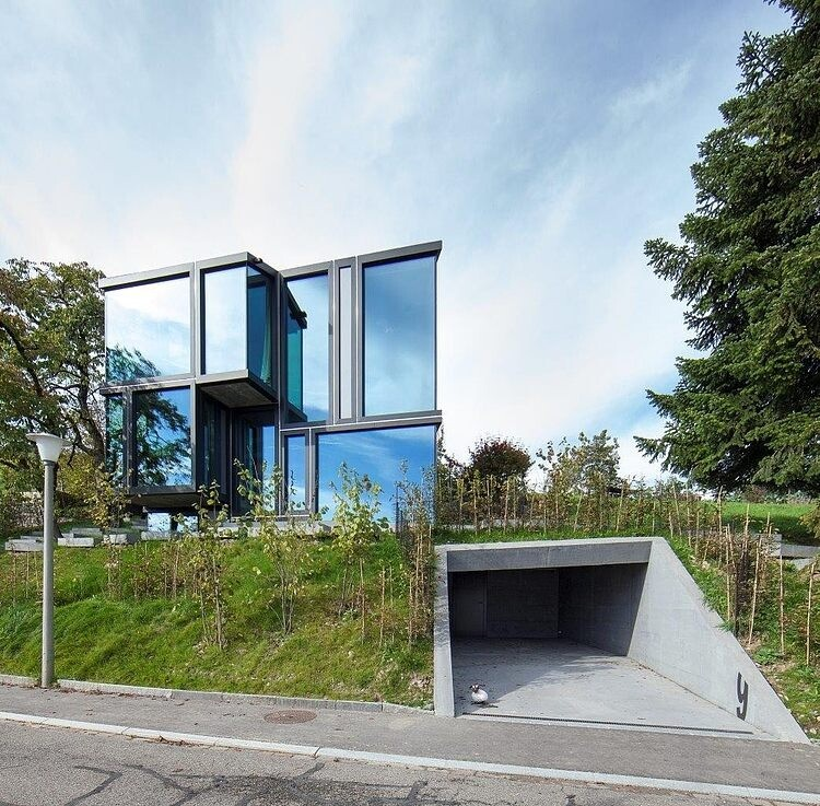 Trubel House by L3P Architekten successful architectural solution for difficult terrain - www.homeworlddesign. com (3)
