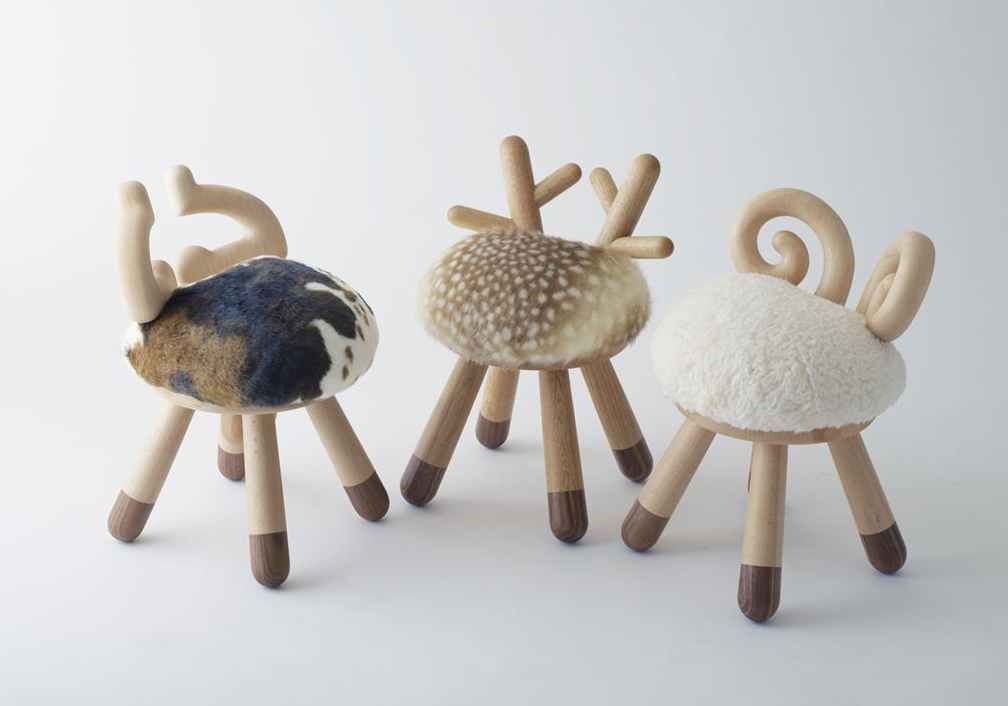 Collection of chairs-toys Takeshi Sawada bring joy to children - HomeWorldDesign (1)