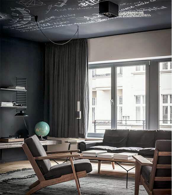 Edgy luxury apartment equipped with statement furniture pieces and signature interior design - HomeWorldDesign (3)