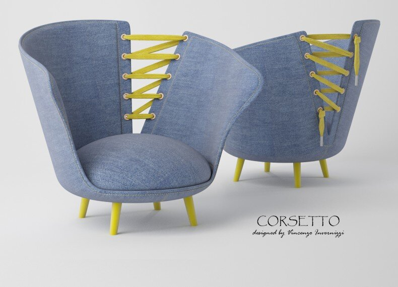 Corsetto armchair by Vincenzo Invernizzi - HomeWorldDesign (1)