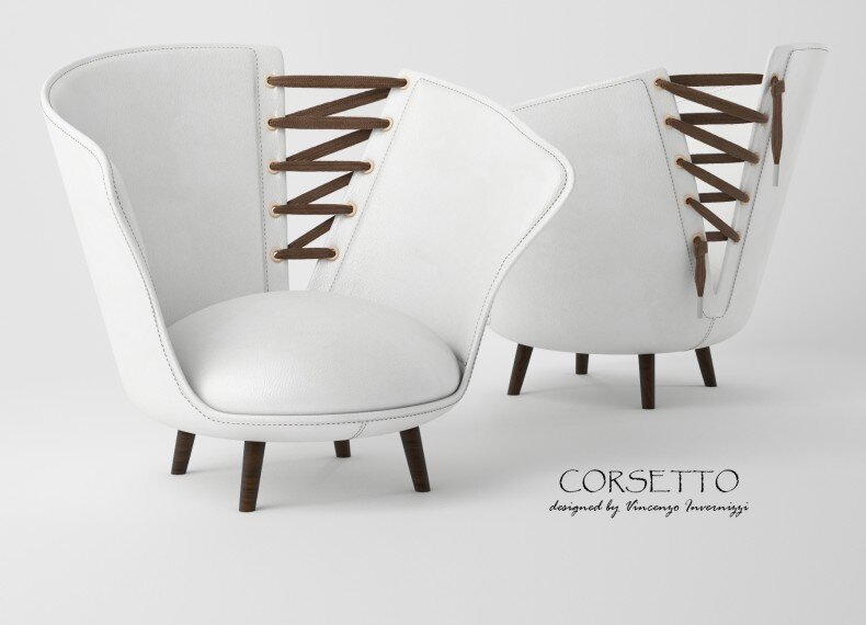 Corsetto armchair by Vincenzo Invernizzi - HomeWorldDesign (2)