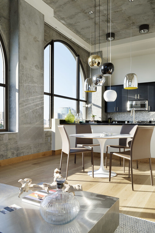 Bond apartment / eclectic mix of modern and vintage - Parisa O'Connell - HomeWorldDesign (14)