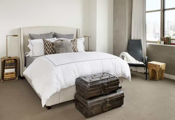 eclectic mix of modern and vintage - Parisa O'Connell - HomeWorldDesign (8)